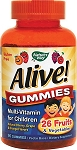 ALIVE Childrens Chewable Gummies