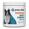 Paws CBD Soft Chews for Dogs – 300mg (Chicken & Bacon Flavor – 30 Chews)