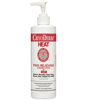 CRYODERM HEAT 16OZ PUMP