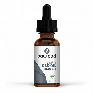 Paws CBD Oil – Canine 1500mg Tincture (1 Oz.)