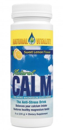 NATURAL CALM ORGANIC SWEET LEMON    (8OZ)